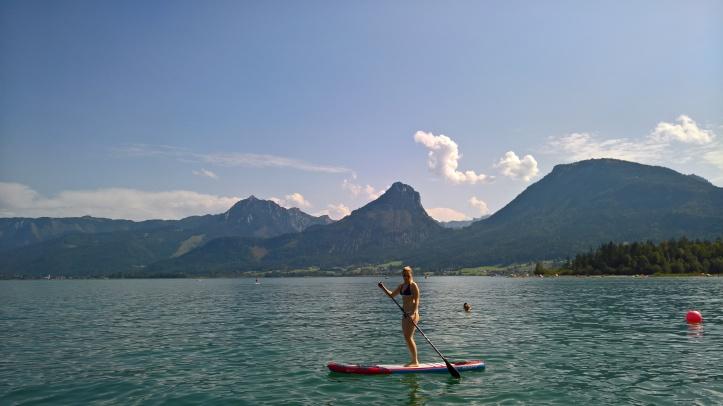 Paddleboard Alpske jazera