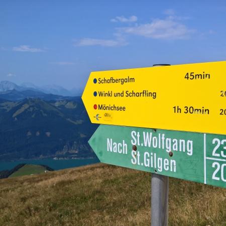 Značka Schafberg St Wolfgang
