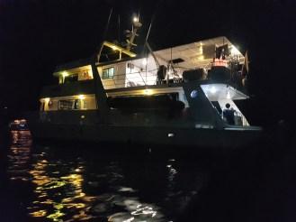 Galapagy, plavba lodí
