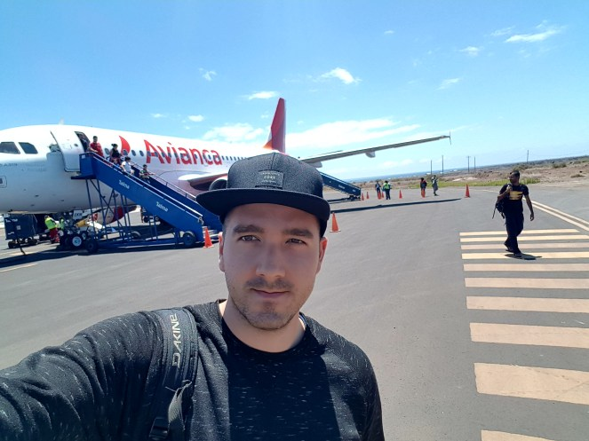 Letisko Galapagy