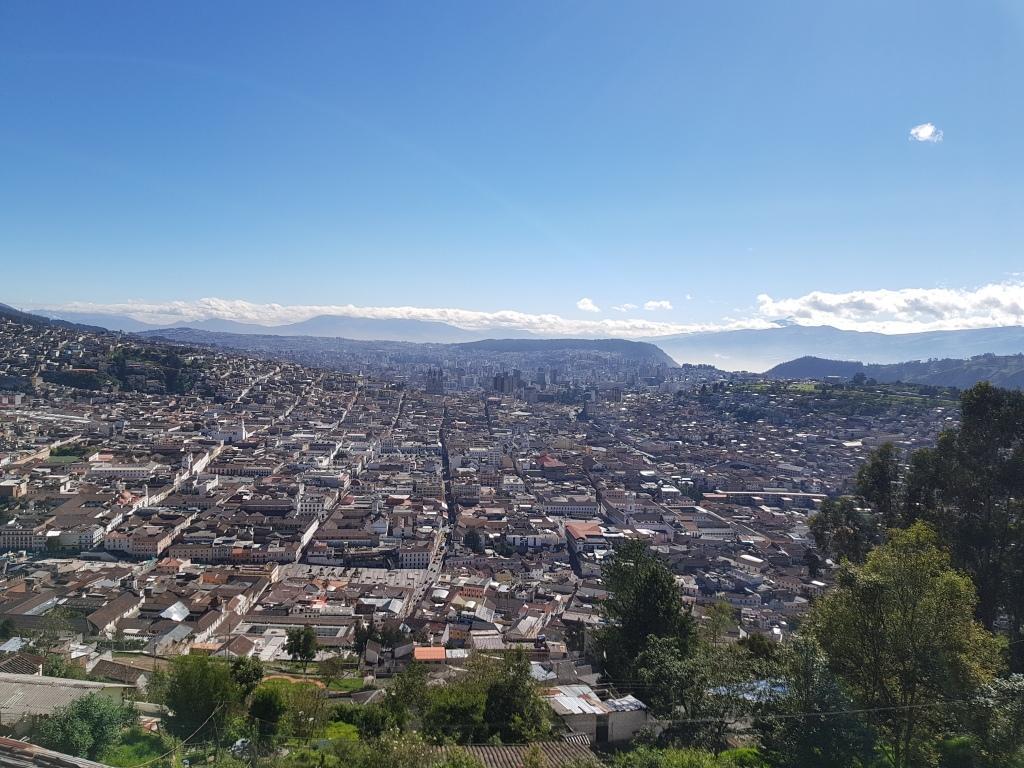 El Panecillo pohled